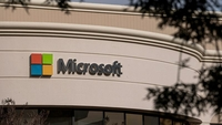 A Microsoft office in Mountain View, Calif., on Jan. 22, 2021. MUST CREDIT: Bloomberg photo by David Paul Morris.