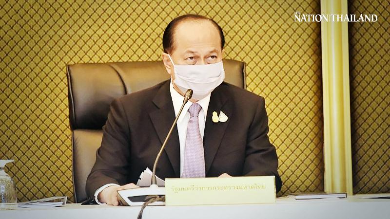 Interior Minister Anupong Paochinda