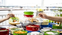Representational image of Thai-style barbecue buffet