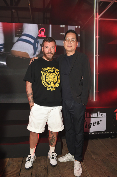 Creative director Andrea Pompilio and brand director Ryoji Shoda