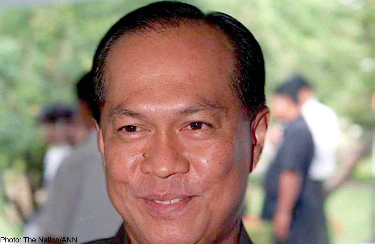 Interior Minister Gen Anupong Paochinda