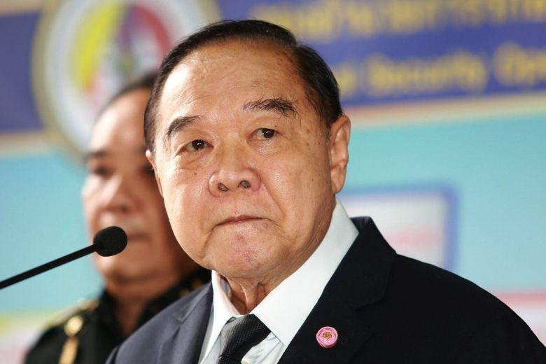 Deputy Prime Minister Prawit Wongsuwan