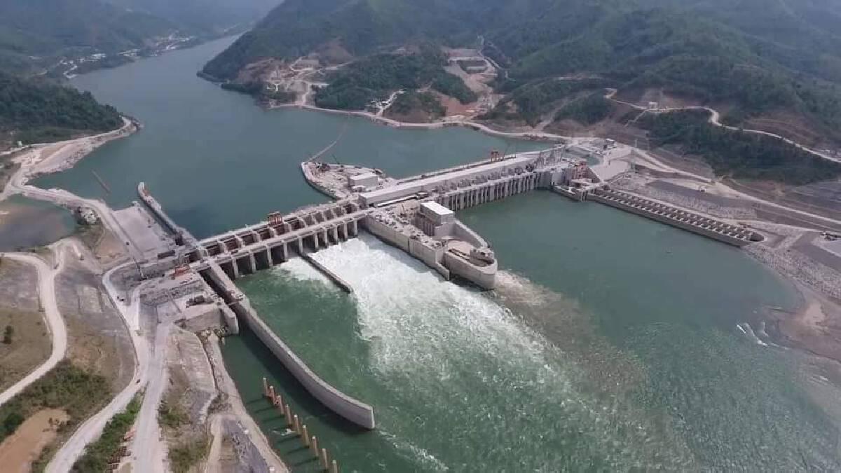 Xayaburi hydropower dam