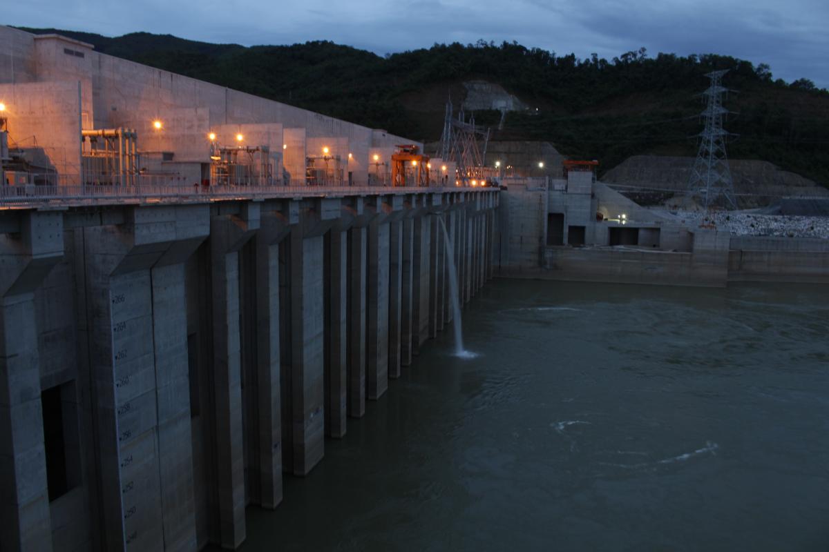 Xayaburi hydeopower dam