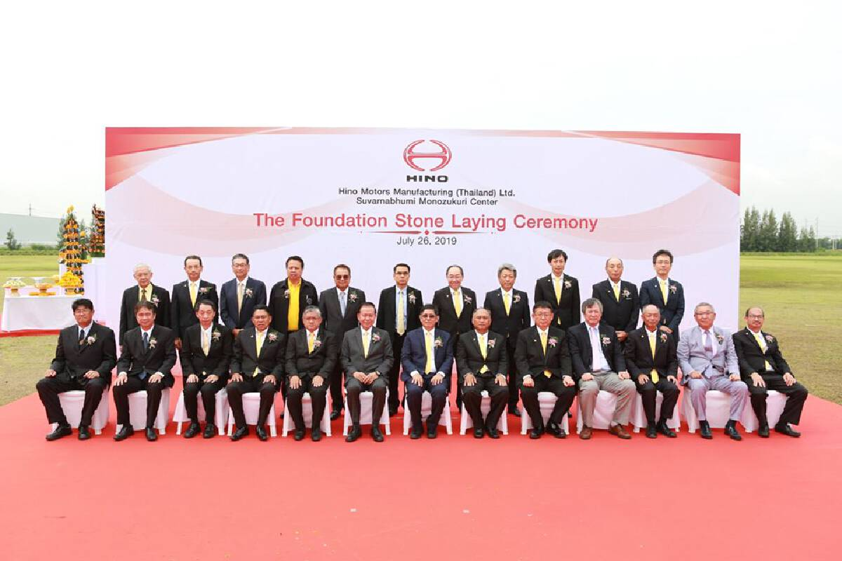 Hino starts construction of integrated production hub in Thailand