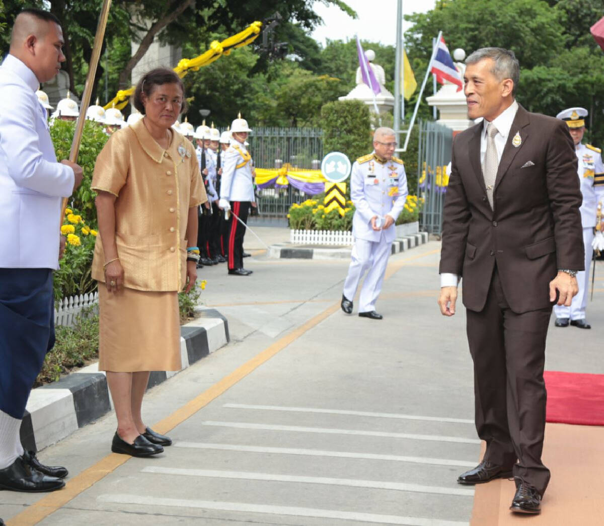 Wishing HM the King a Happy Birthday (See gallery)