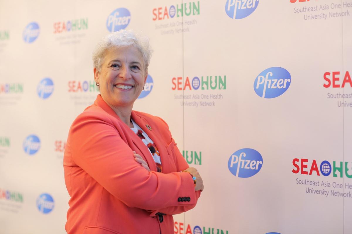 Susan Silbermann, the Pfizer global president for emerging markets