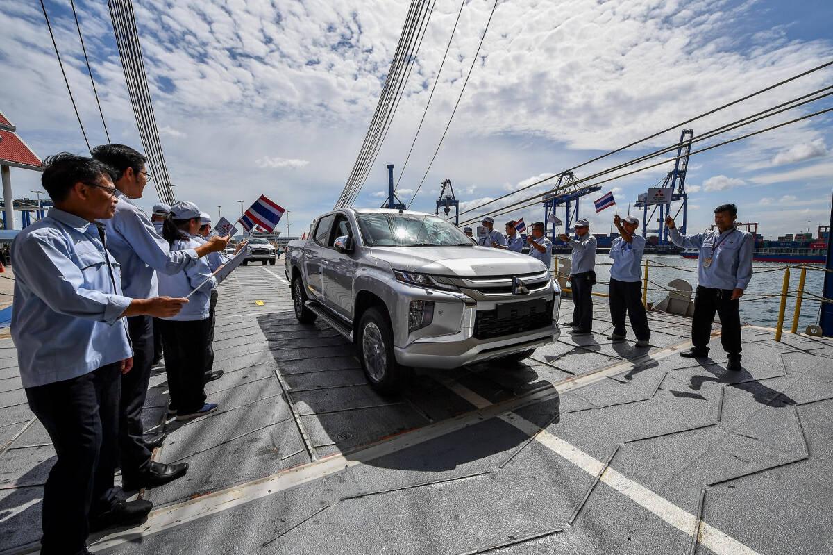 Mitsubishi's auto exports from Thailand reach 4 million