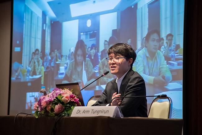 Arm Tungnirun of Chulalongkorn University