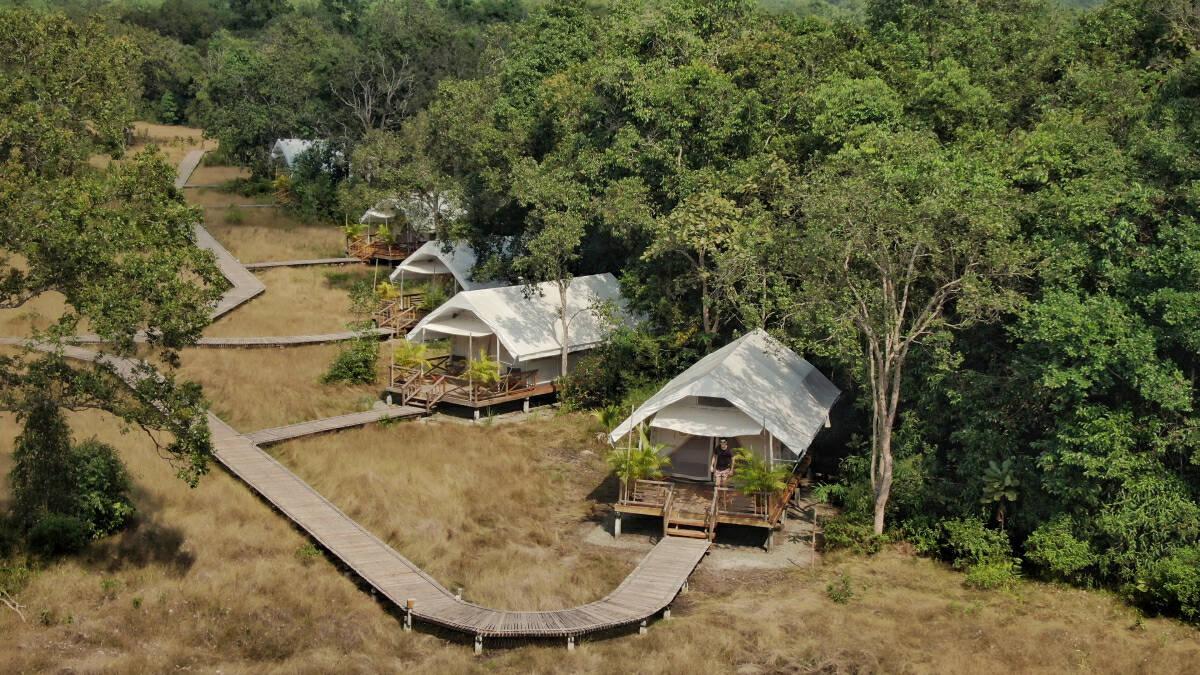 Cardamom Tented Camp in Cambodia