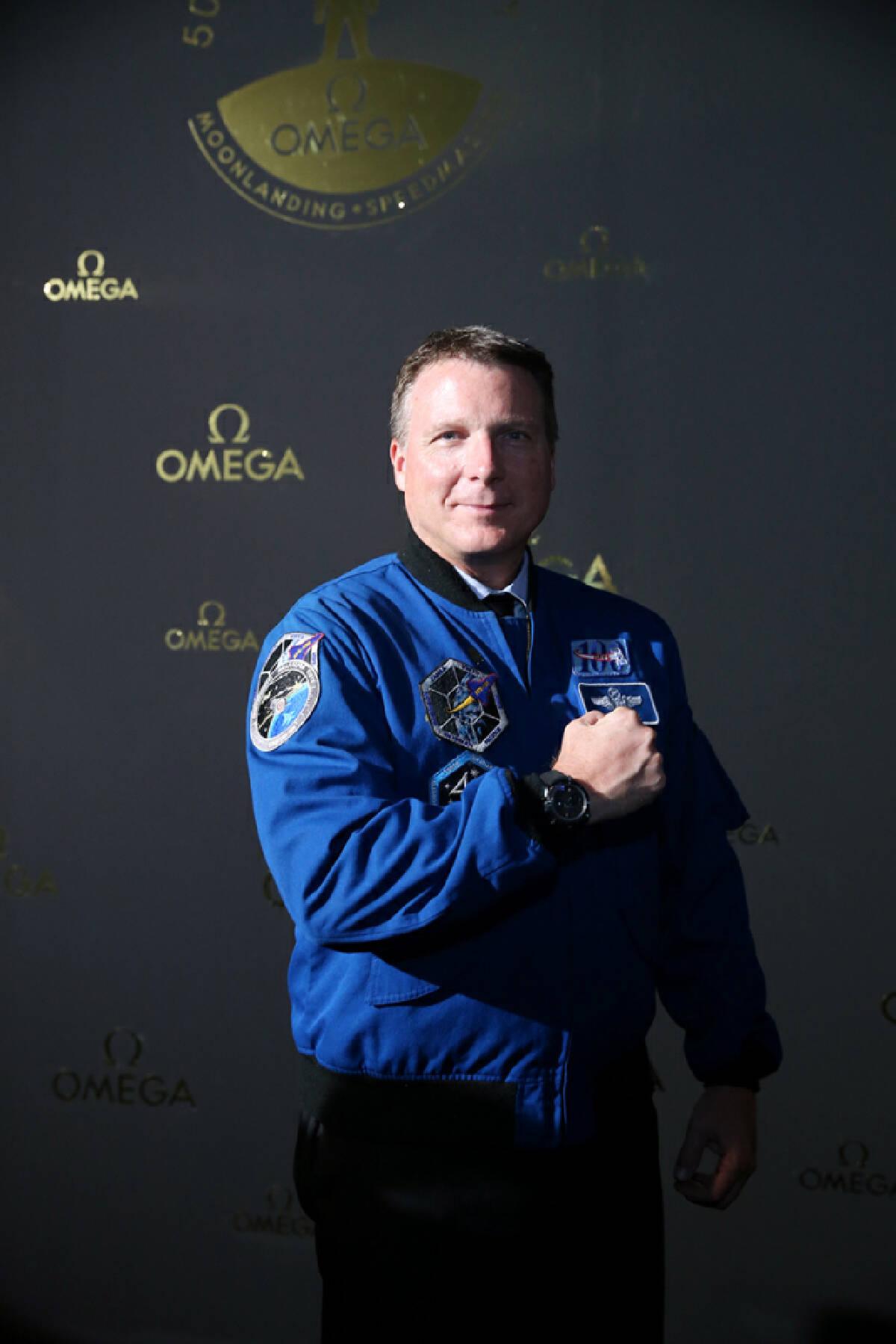 Omega goes lunar for moon-landing anniversary