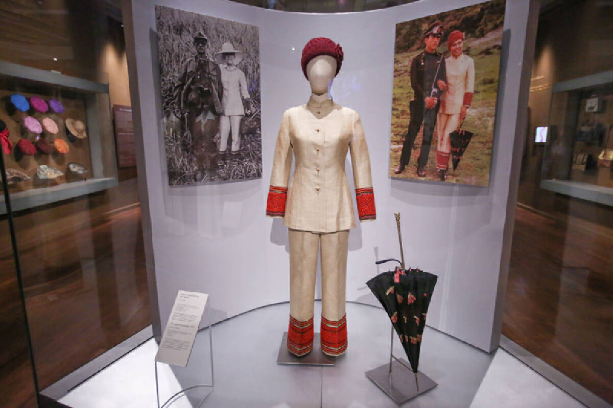 The Queen Sirikit exhibition: Love requited
