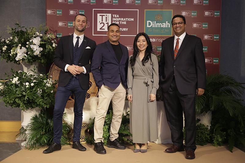 From left, Tomek Malek, Peter Kuruvita, Tasanee Asawagovitwong, and Dilhan C. Fernando