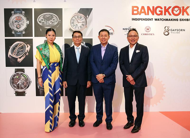 Patita Tantivechakul, Adisak Panupong,  Jimmie Tay, and Charn Srivikorn