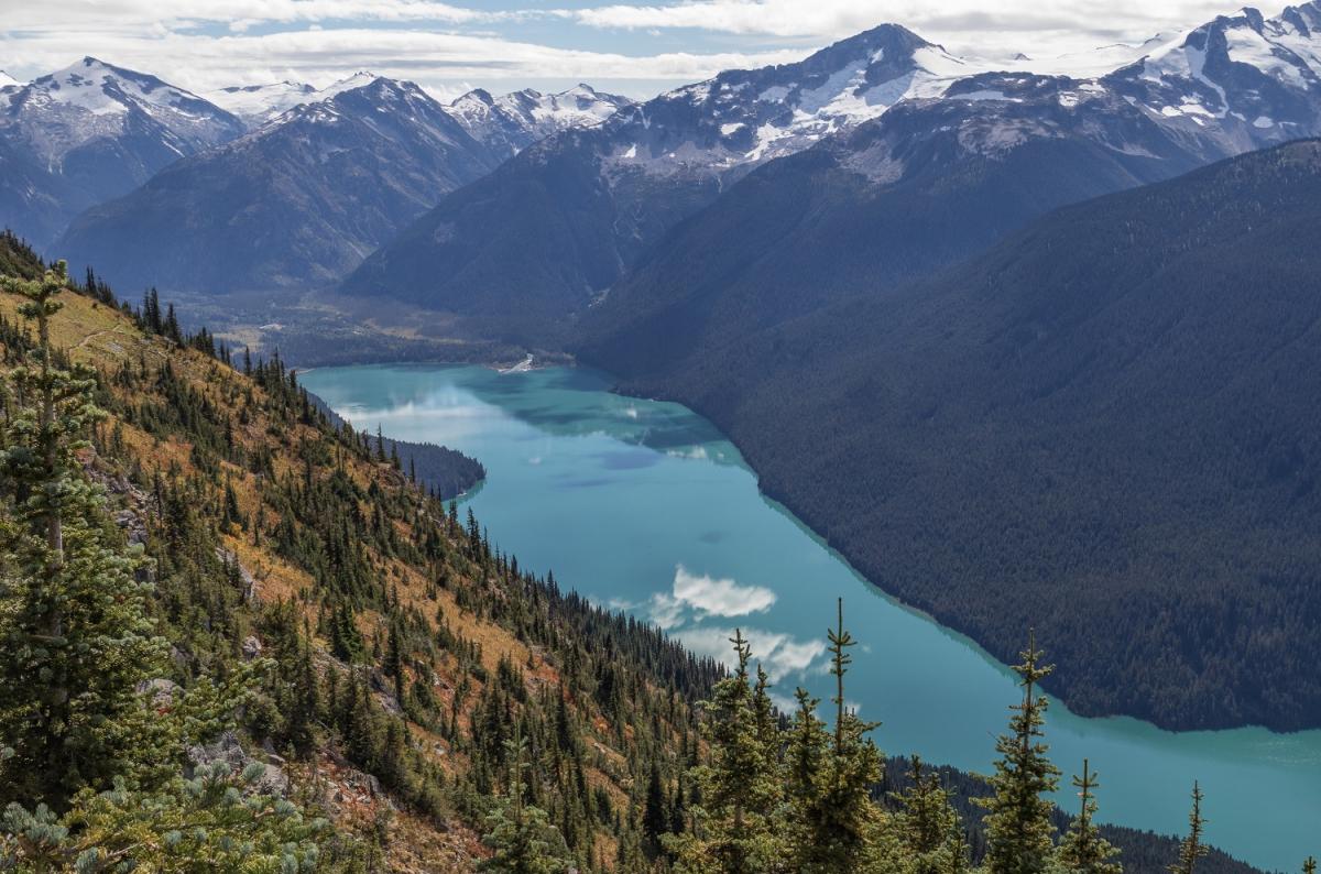 Cheakamus Lake, Whistler, Canada