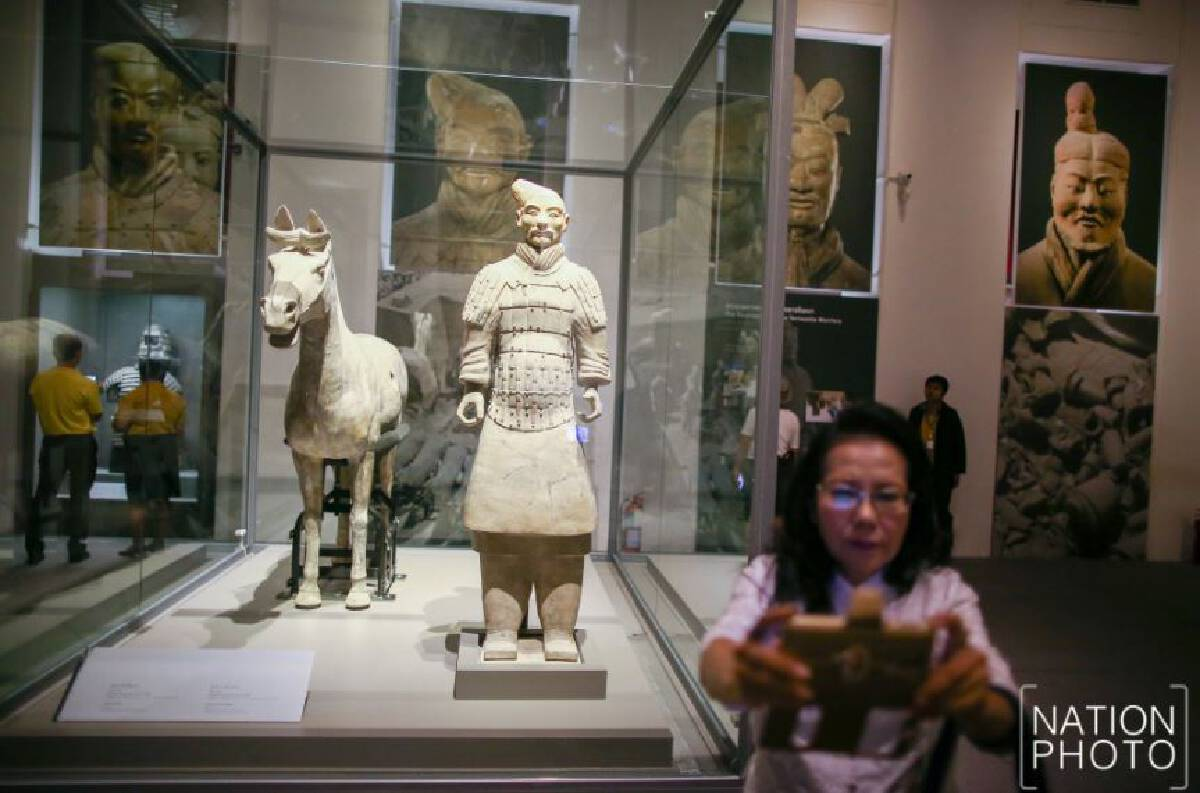 Ancient Chinese artefacts go on display at National Museum starting Monday