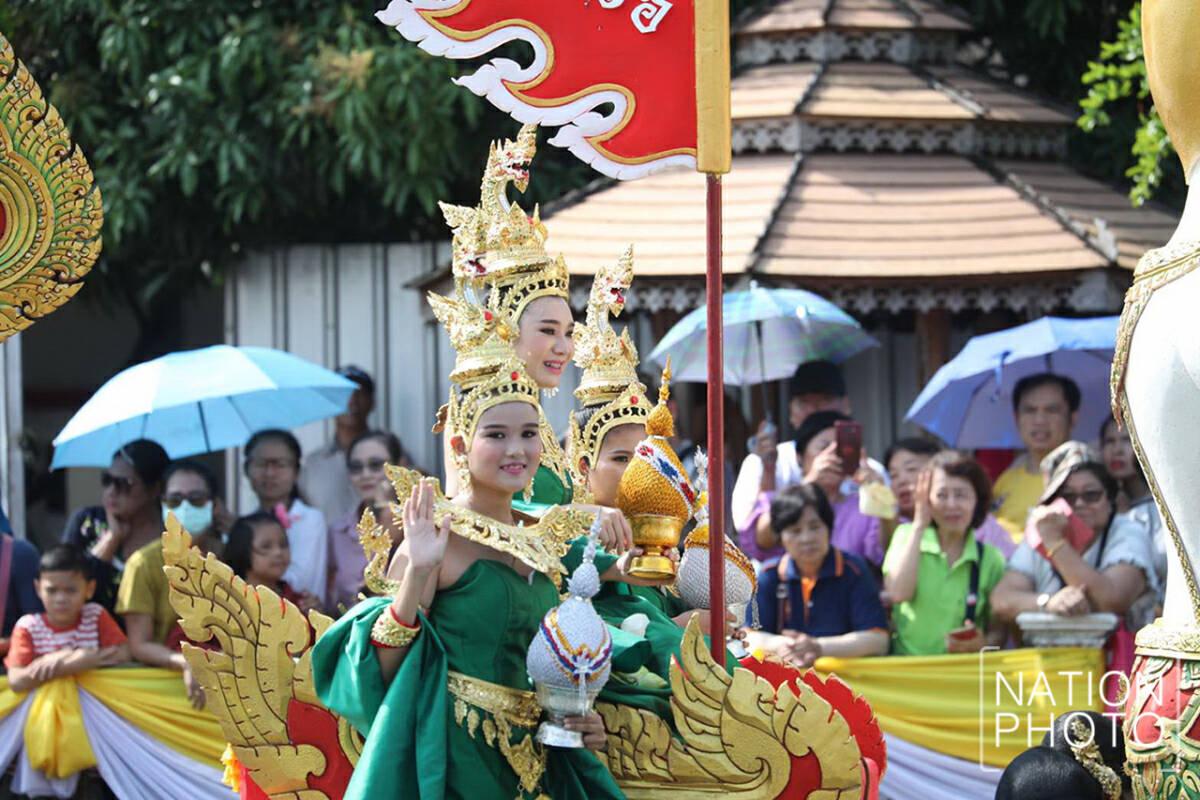 """""""Rub-Bua Tradition"""" on October 12 at Samrong Canal, Samut Prakan"""