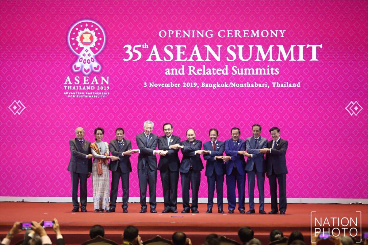 Asean leaders meet in Bangkok.