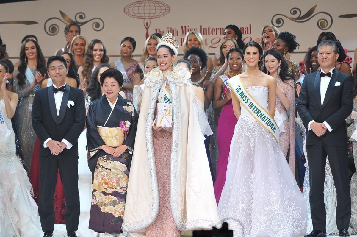 Thai beauty crowned Miss International 2019