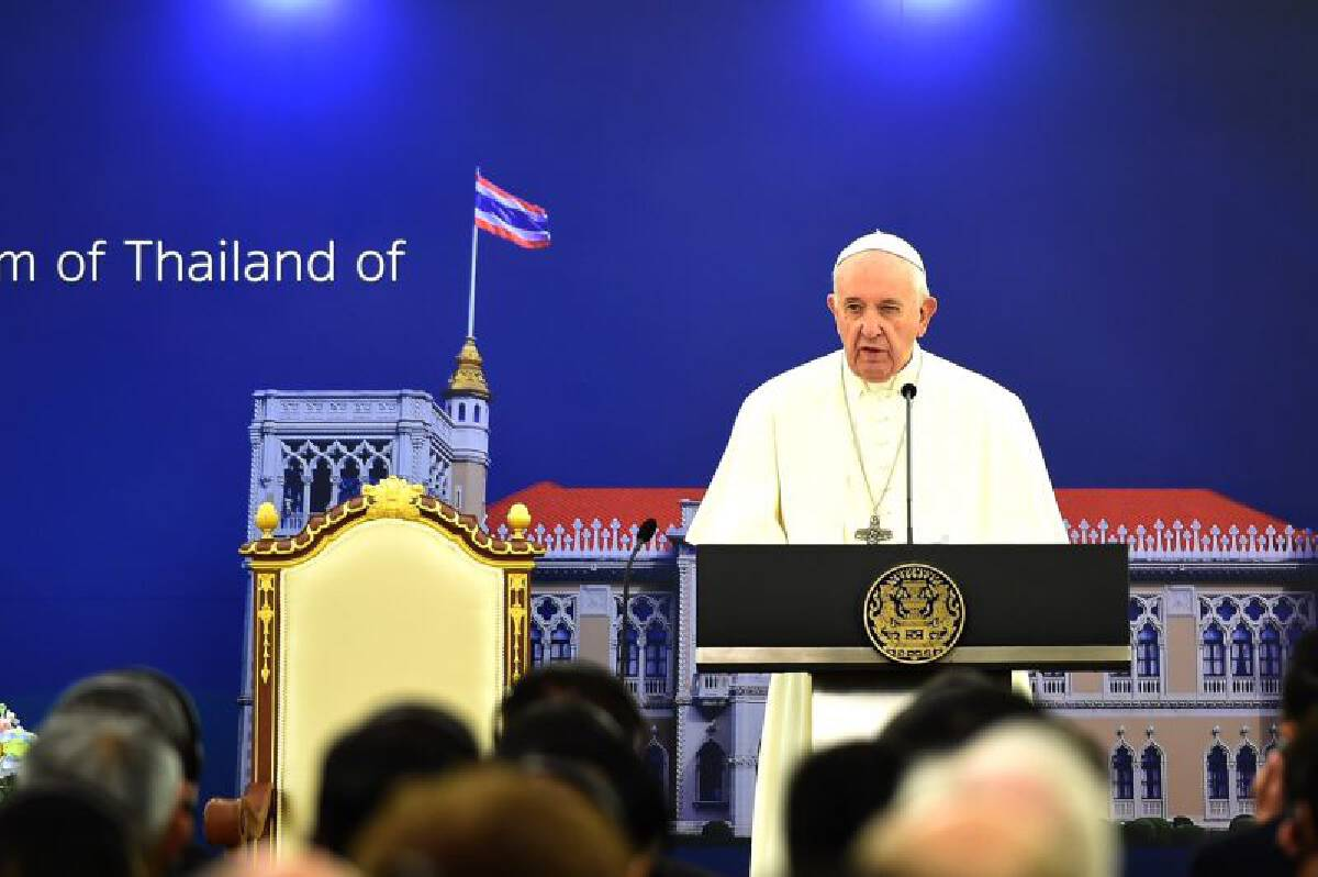 Pope Francis meets PM