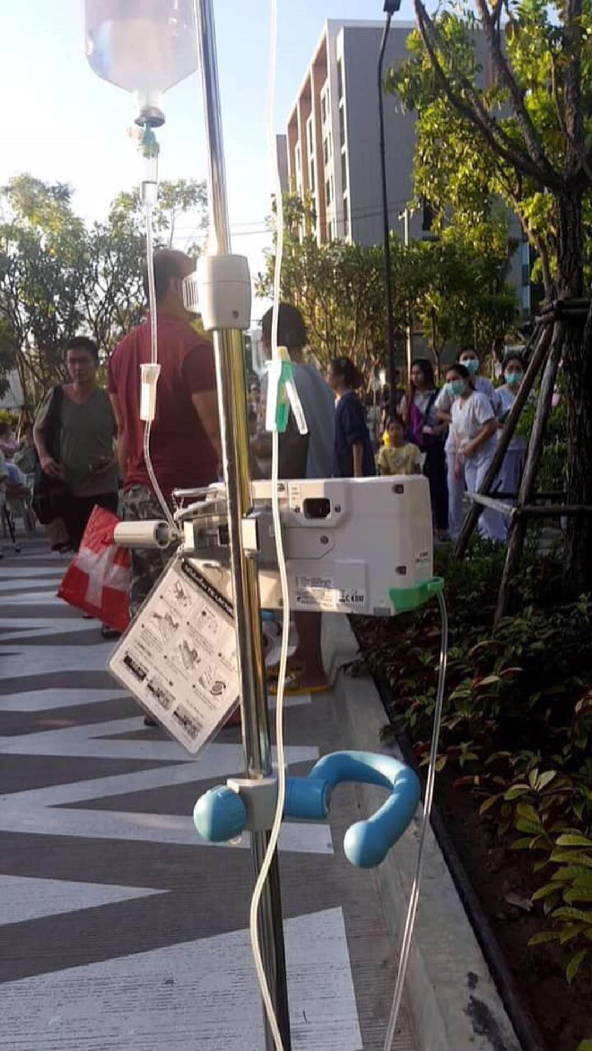 Not a drill: Earthquake empties Khon Kaen hospital