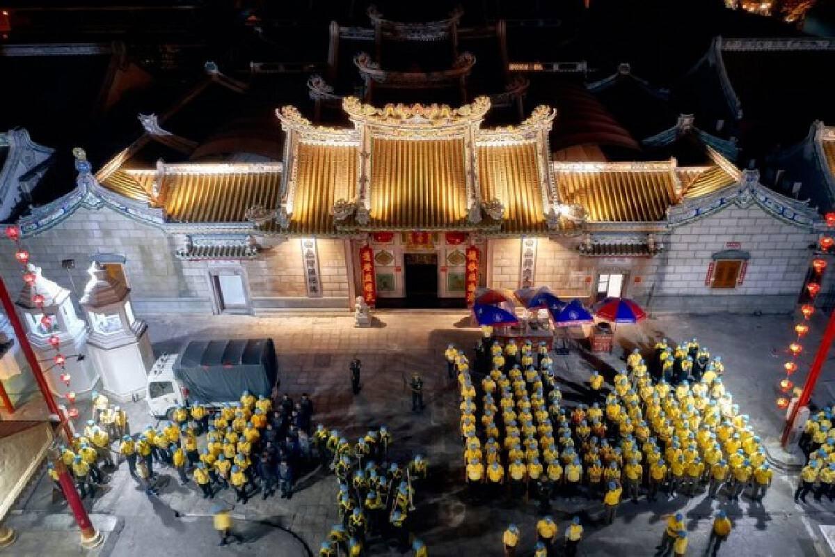 Yaowarat decks up to welcome Their Majesties