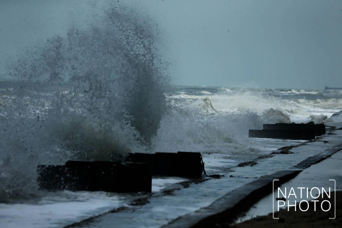 Strong winds, waves sink fishermen's earnings