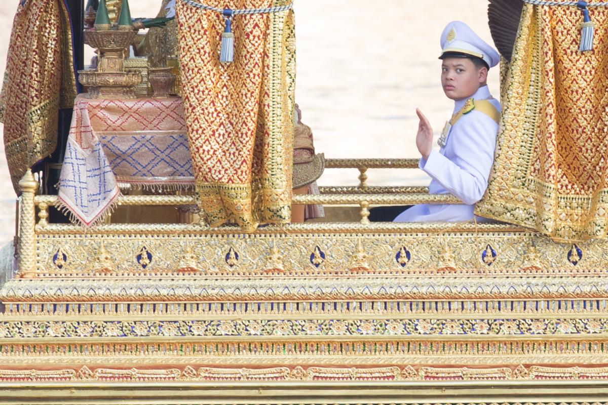 His Royal Highness Prince Dipangkorn Rasmijoti