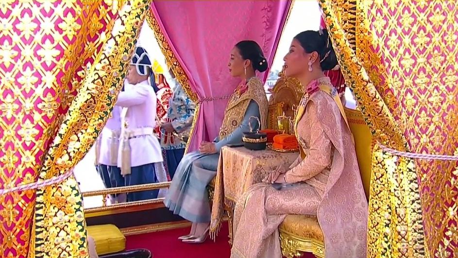 Her Royal Highness Princess Bajrakitiyabha Narendiradebyavati and Her Royal Highness Princess Sirivannavari Nariratana Rajakanya