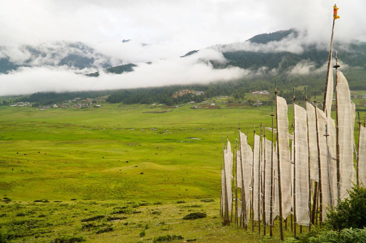 Phobjikha Valley in Gangtey offers an easy yet scenic trek. ST PHOTO: CLARA LOCK
