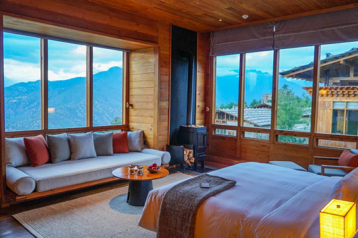 International luxury chain Six Senses opened new properties in Thimphu, Punakha and Paro this March. ST PHOTO: CLARA LOCK