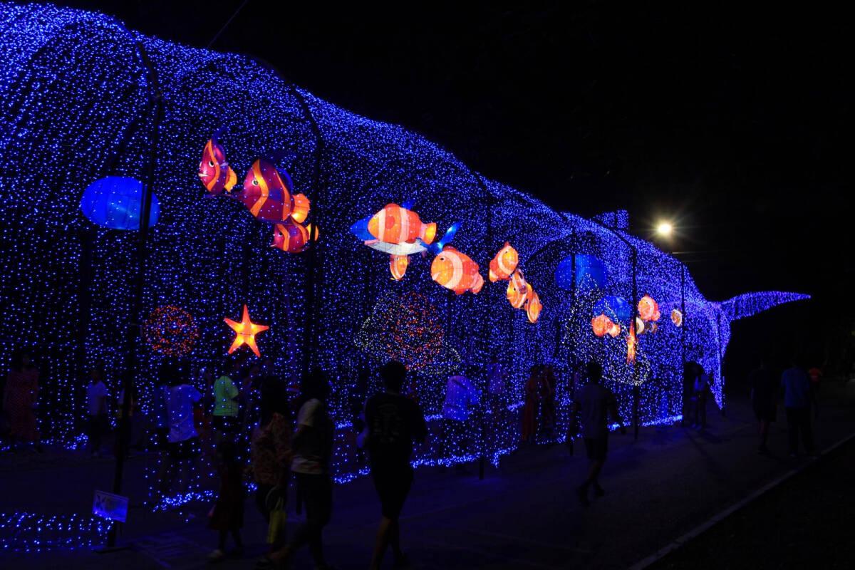 Lanterns light up Nakhon Sawan festival