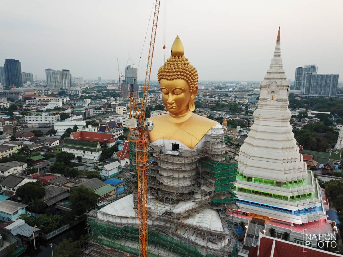 Large Buddha statue set to be installed in Bangkok
