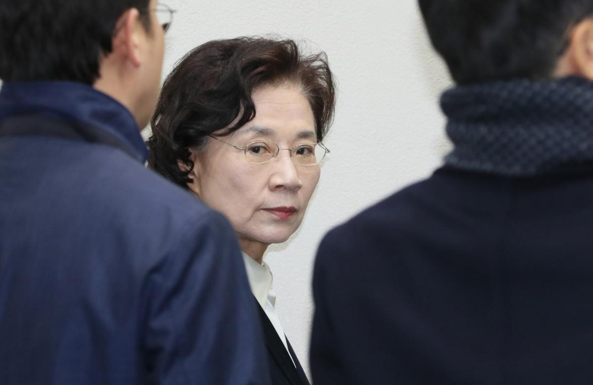 Lee Myung-hee (Yonhap)