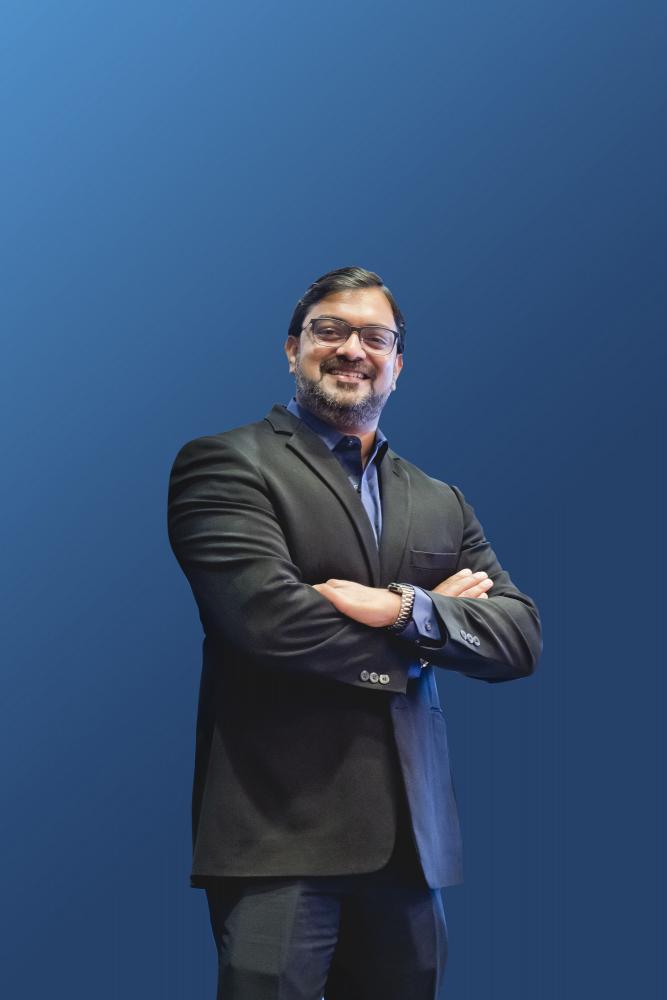 Santhosh Viswanathan, Managing Director, Intel Asia-Pacific and Japan Territory