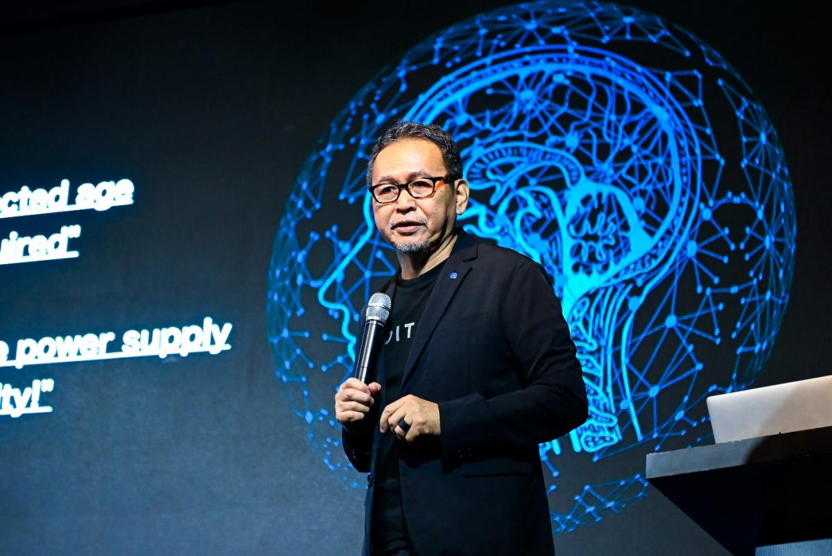 Satoshi Nakagawa, the founder of Super Sensing Forum