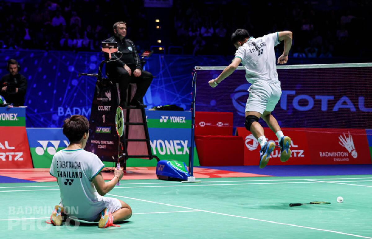 Brilliant Thai pair eyes on All England glory