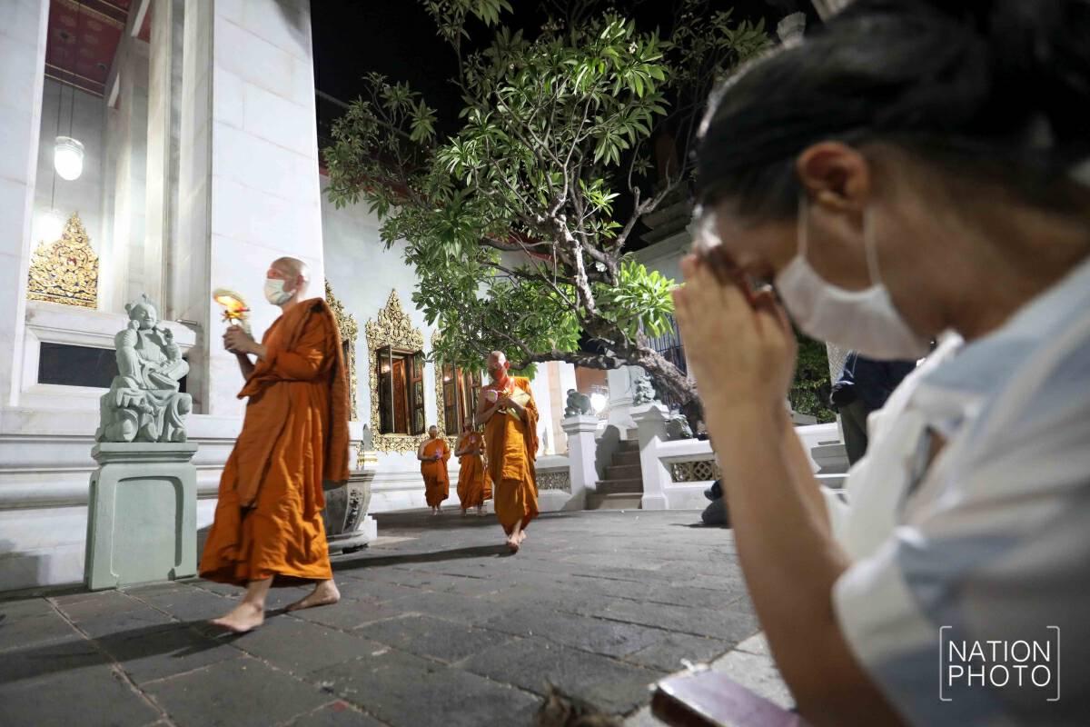 Buddhists nationwide commemorate Visakha Bucha Day online