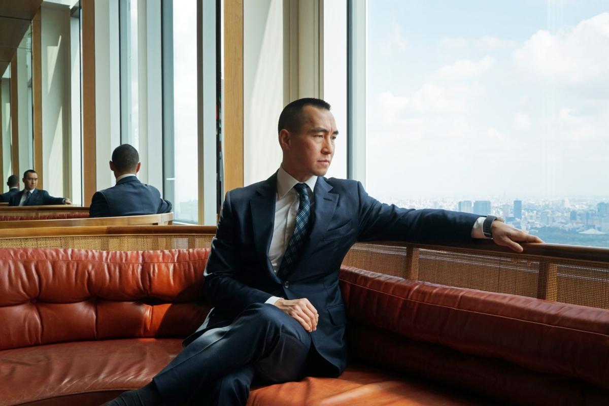 Lawrence Ho. MUST CREDIT: Bloomberg photo by Kentaro Takahashi