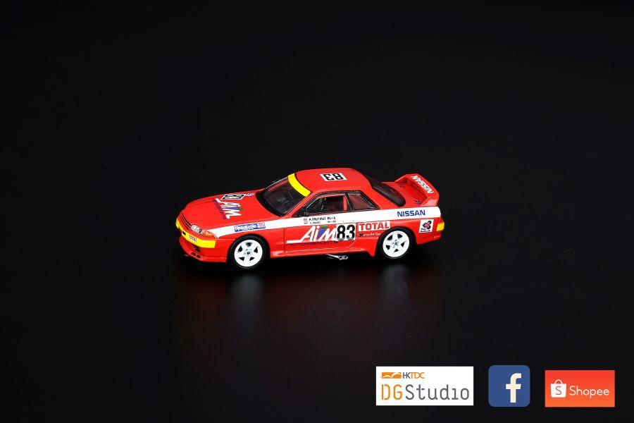 "INNO 64 - 1/64 NISSAN SKYLINE GT-R BNR32 #83 ""AIM MOTORSPORT"" JTC Fuji 500KM 1992"