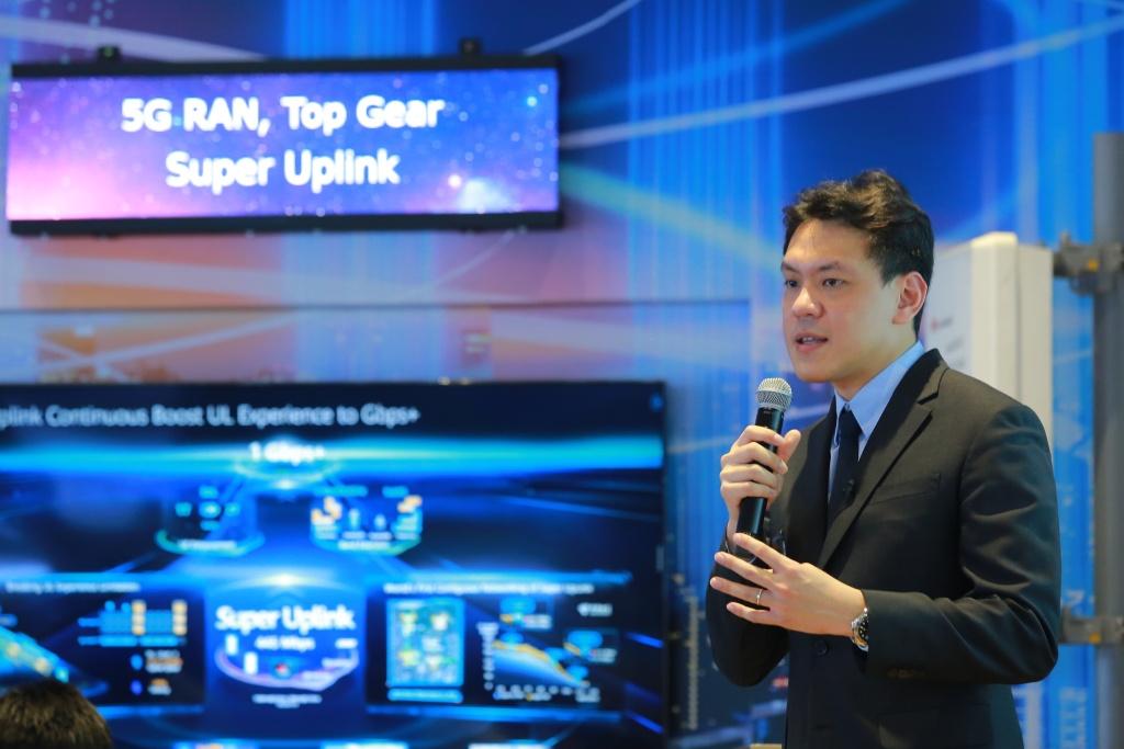 Woragarn Likhitdechasakdi,  Deputy Chief Technology Officer of Carrier Network,  Huawei Technologies (Thailand) Co. Ltd.
