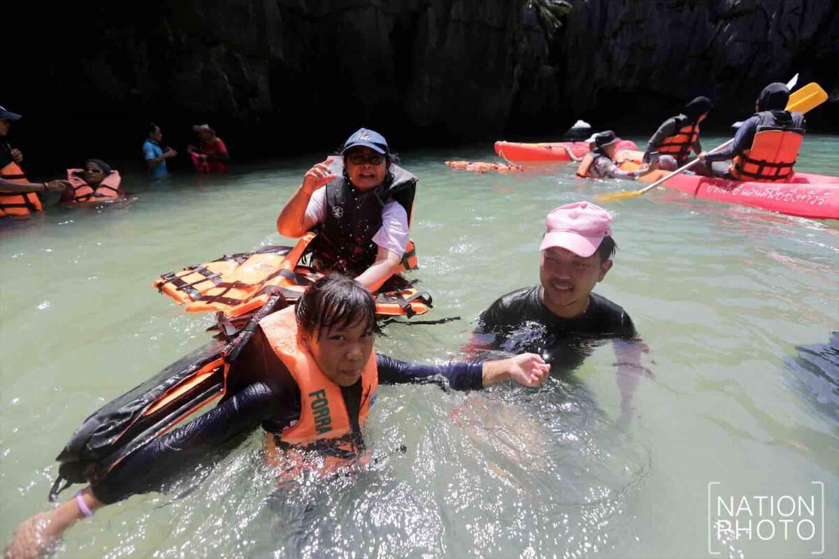 Satun's fascinating limestone mountain range beckons