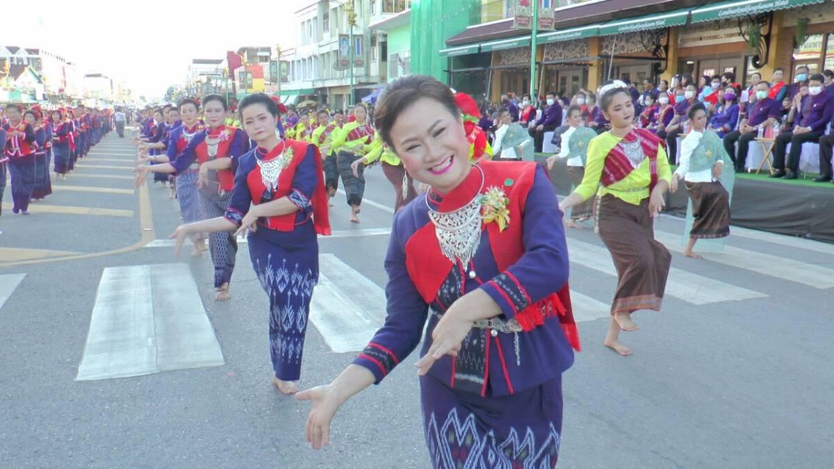 Nakhon Phanom's mystical serpent deities celebrated despite new normal
