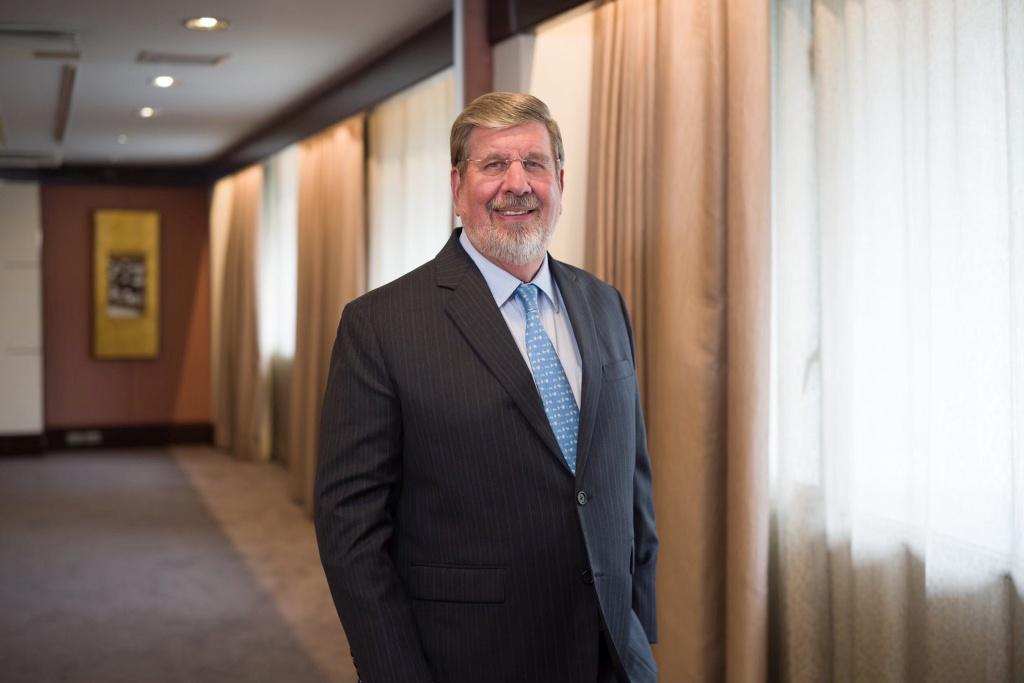 William Heinecke, chair of Minor International's board