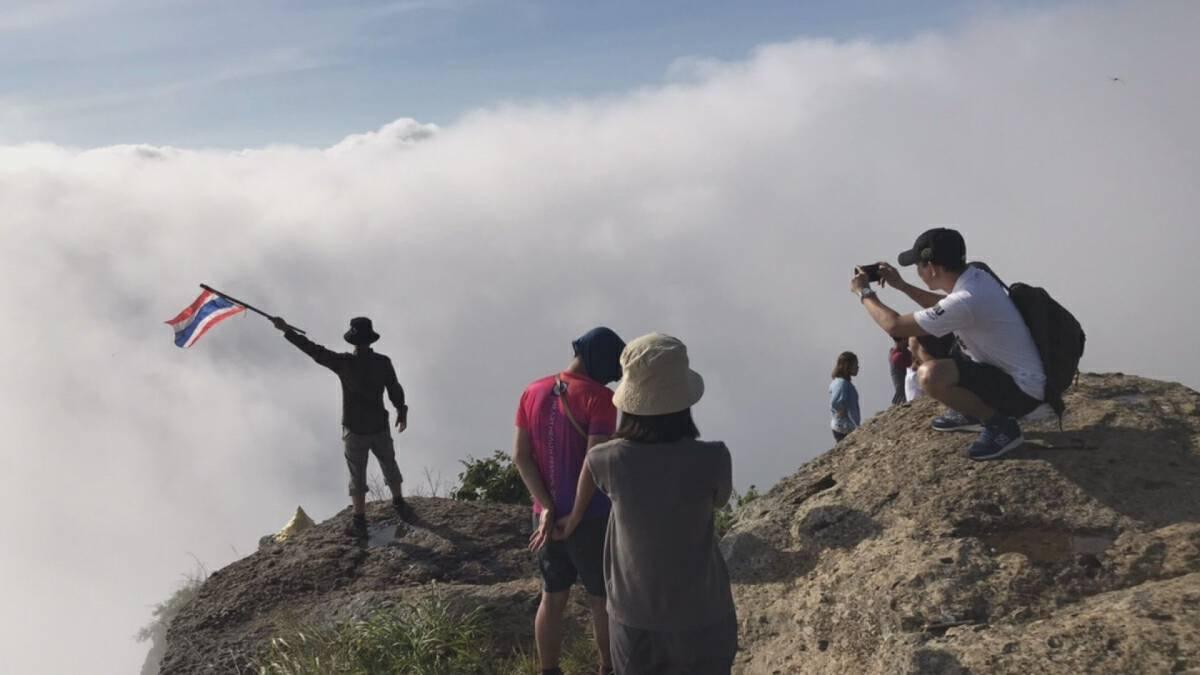 Scenic splendour of Sukhothai national park draws tourists during long weekend