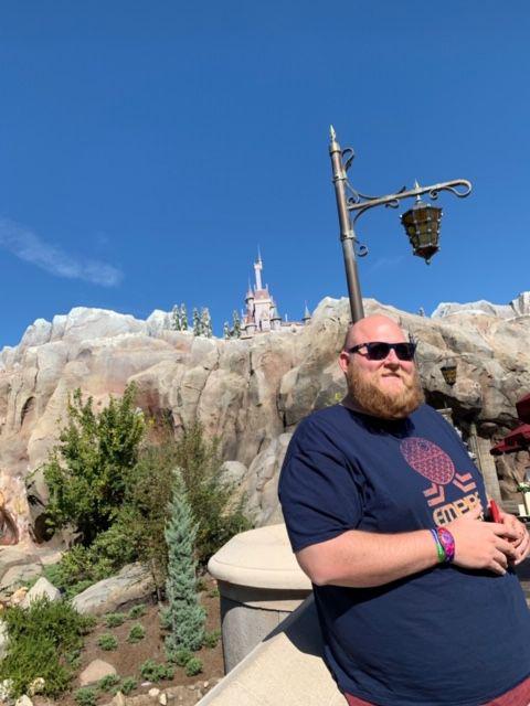 Jared Ream at Walt Disney World in November 2018. MUST CREDIT: Photo courtesy of Jared Ream.
