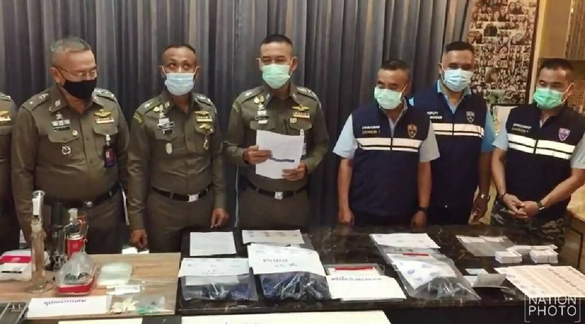 American, Thai wife arrested for alleged visa-forging business, growing cannabis