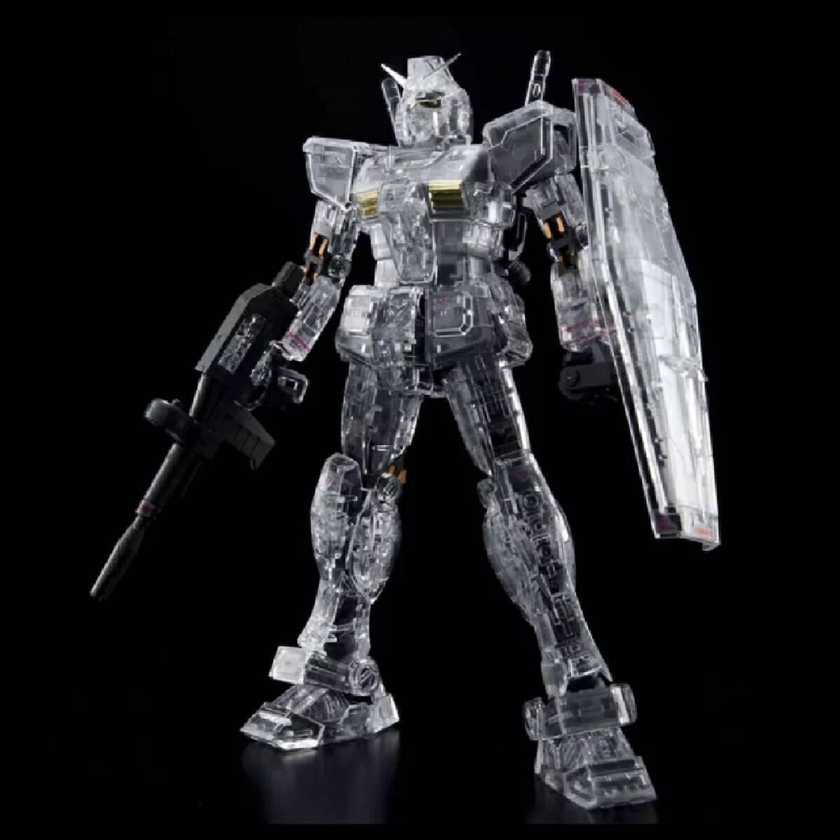 RG 1/144 RX-78-2 Gundam Mechanical Clear Ver