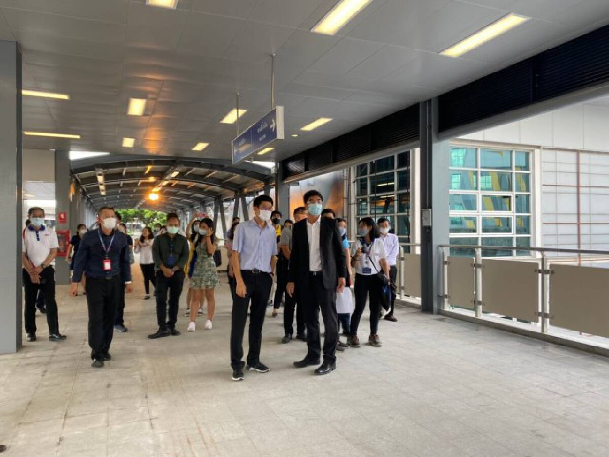Skywalk connecting MRT Blue Line and BTS Green Line opens on Monday