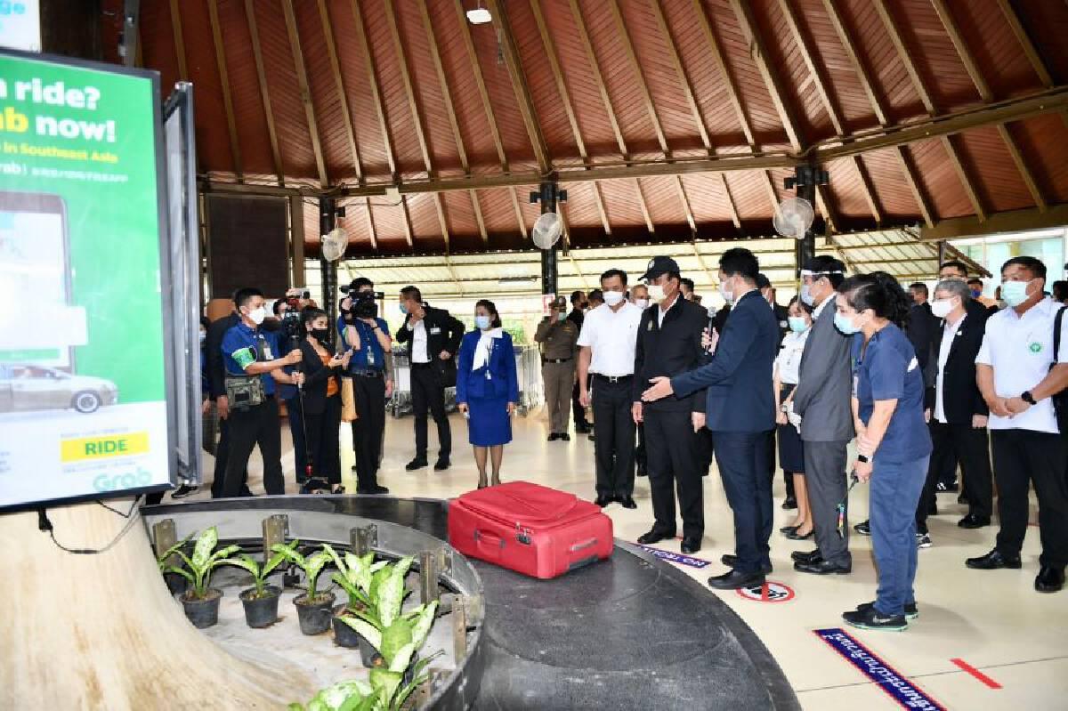 Prayut and Cabinet check tourism preparations on Samui
